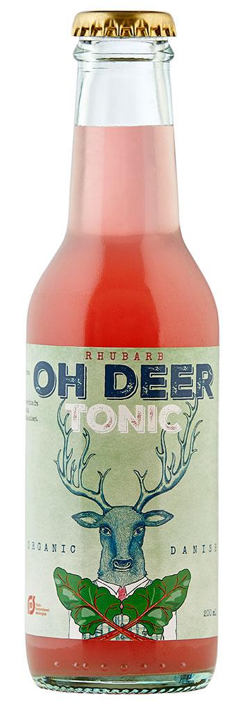 oh deer rabarber tonic